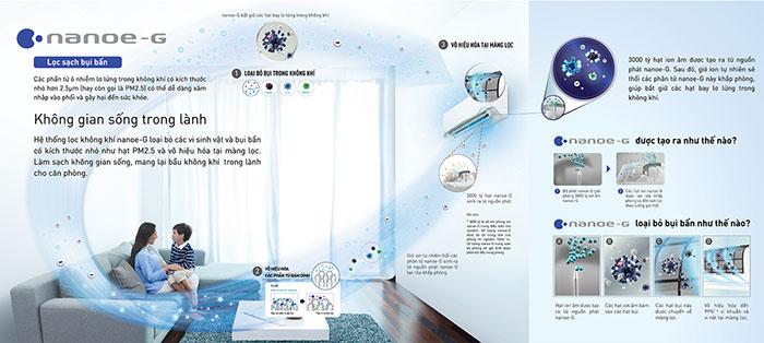 Điều Hòa Panasonic 1 Chiều 18.000BTU (CU/CS-N18VKH-8) chất lượng