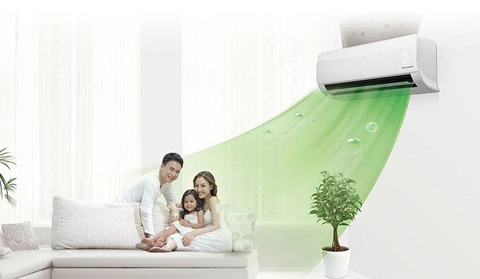 Dàn Lạnh Treo Tường Panasonic Multi Inverter 1 Chiều 13.600 BTU (CS-MPS15SKH) thoải mái