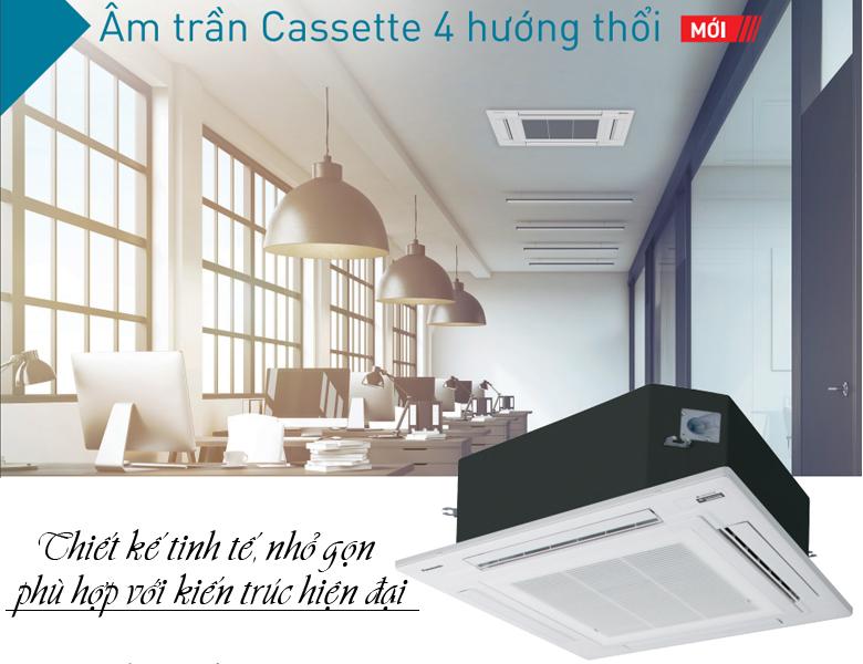 Điều Hòa Âm Trần Cassette Panasonic Inverter 1 Chiều 34.100BTU (S-34PU2H5-8/U-34PS2H5-8)