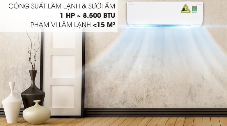 Điều Hòa Daikin Inverter 1 Chiều 8.500BTU (FTKC25UAVMV/RKC25UAVMV) chính hãng