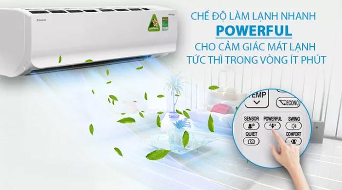 Điều Hòa Treo Tường Daikin Inverter 1 Chiều 8.500 BTU (FTKC25UAVMV/RKC25UAVMV)