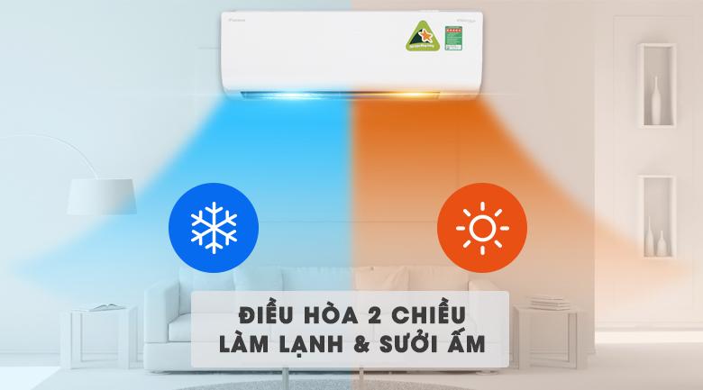 Điều Hòa Daikin Inverter 1 Chiều 11.900 BTU (FTKC35UAVMV/RKC35UAVMV)