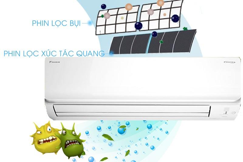 Điều Hòa Daikin Inverter 1 Chiều 11.900 BTU (FTKC35UAVMV/RKC35UAVMV)-giá-re