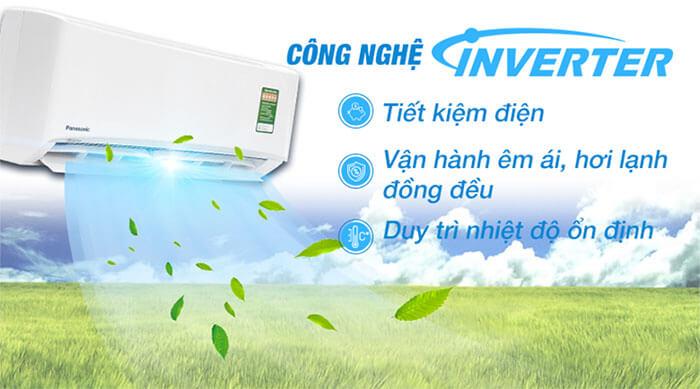Điều Hòa Treo Tường Panasonic Inverter 1 Chiều 24.000 BTU (CU/CS-XPU24WKH-8) rẻ