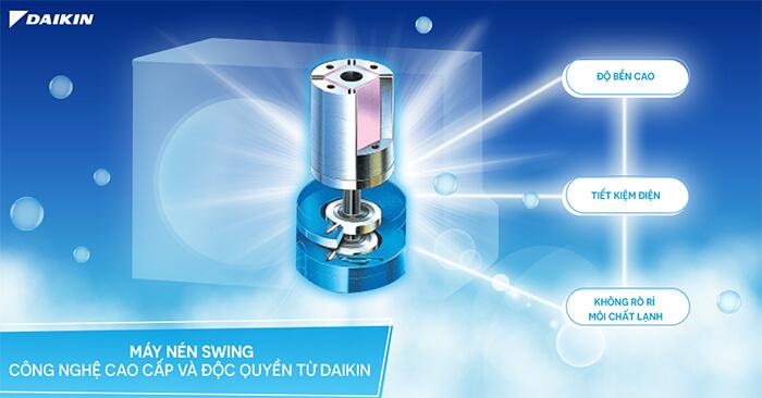 Điều Hòa Tủ Đứng Daikin Inverter 1 Chiều 17.100 BTU (FVA50AMVM/RZF50CV2V) Điều Khiển Dây (BRC1E63)