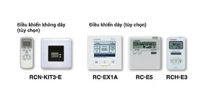 Hệ điều khiển đa dạng nhiều lựa chọn