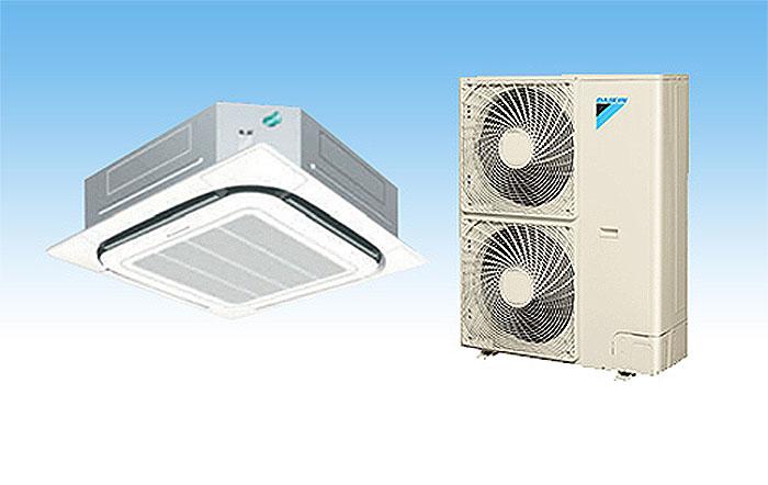 Điều Hòa Âm Trần Cassette Daikin Inverter 2 Chiều 34.100 BTU (FCQ100KAVEA/RZQ100LV1) Điều Khiển Không Dây (BRC7F634F9+BYCP125K-W18) chính hãng
