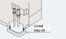 Điều hòa Tủ đứng Daikin 2 Chiều 34.100 BTU (FVQ100CVEB/RQ100MV1) chính hãng
