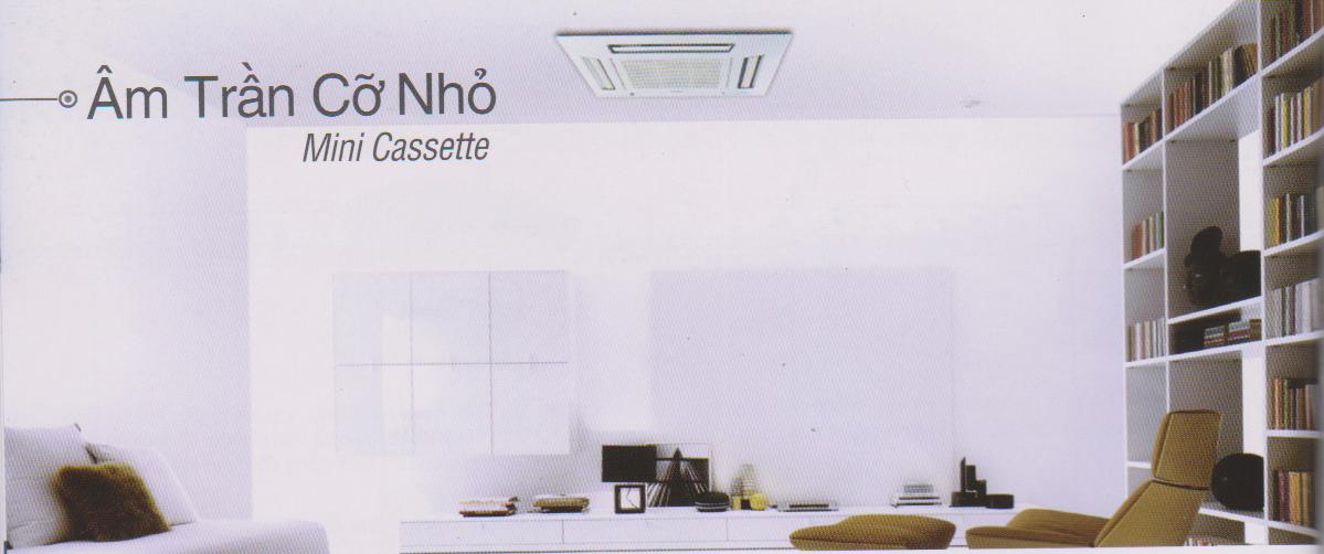 Điều Hòa Âm Trần Cassette Panasonic Cỡ Nhỏ Inverter 1 Chiều 22.200BTU (CS-PC24DB4H/CU-PC24DB4H)
