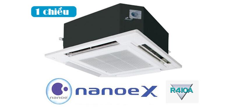 Điều Hòa Âm Trần Cassette Panasonic Cỡ Nhỏ Inverter 1 Chiều 16.000 BTU (CS-S18MB4ZW/CU-S18MBZ)