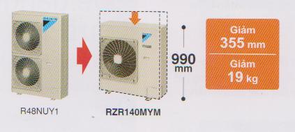 Điều hòa tủ đứng Daikin 1 chiều 42.700 BTU | Dàn nóng