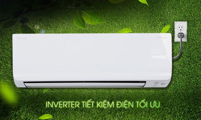 Điều Hòa Daikin Inverter 2 Chiều 17.700BTU (FTHF50RVMV/RHF50RVMV) tiết kiệm