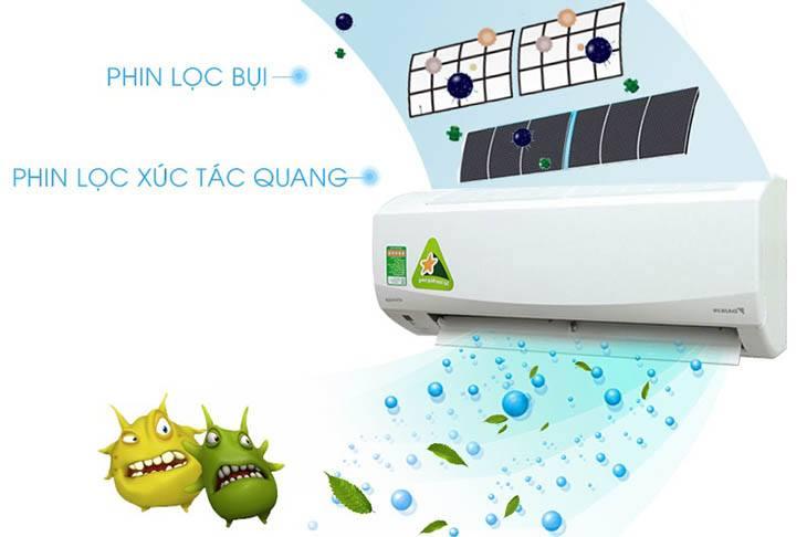 Điều Hòa Treo Tường Daikin 1 Chiều 9.000 BTU (FTC25NV1V/RC25NV1V) giá tốt