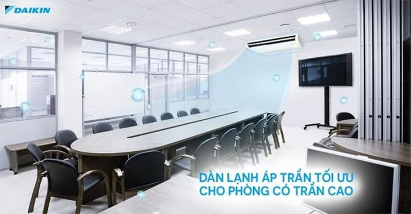 Điều Hòa Áp Trần Daikin Inverter 1 Chiều 47.800BTU (FHA140BVMA/RZF140CYM) Điều Khiển Dây (BRC1E63)