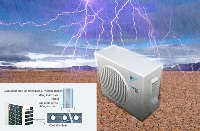 Điều Hòa Nối Ống Gió Daikin Inverter 1 Chiều 34.100BTU (FBA100BVMA/RZF100CVM) Điều Khiển Không Dây (BRC4C66) bền bỉ