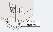 Điều hòa tủ đứng daikin 1 chiều 29.000 BTU (FVRN71BXV1V/RR71CBXV1V) điều khiển không dây tiện nghi