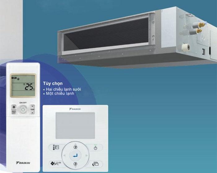 Dàn lạnh Điều Hòa Nối Ống Gió Multi inverter daikin 2 chiều 12.000BTU (CDXM35RVMV) điều khiển