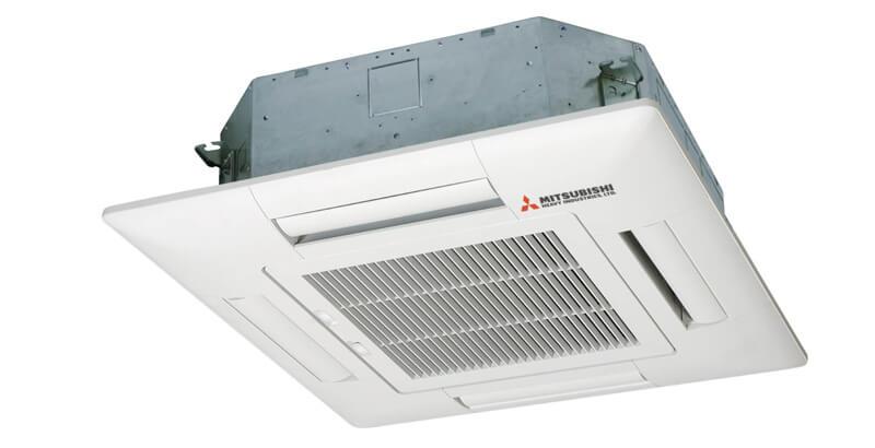 Dàn Lạnh Âm Trần Multi Mitsubishi Inverter 2 Chiều 9.000BTU (FDTC25VF) Mặt Nạ (TC-PSA-25W-E)
