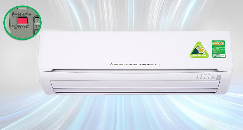 Điều Hòa Mitsubishi Heavy 1 Chiều Inverter 13.000BTU (SRK/SRC13CRS-S5) giá tốt
