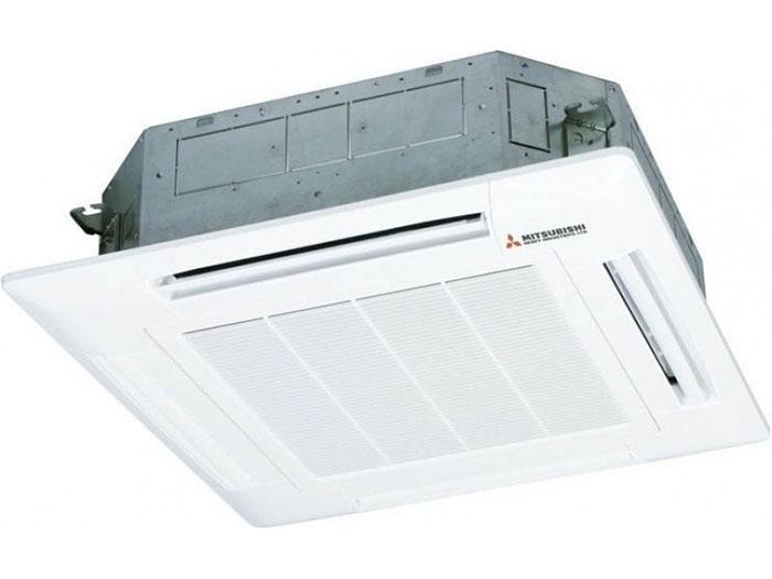 Điều Hòa Âm Trần Cassette Mitsubishi Inverter 2 Chiều 24.000 BTU (FDT71VG/FDC71VNP) Điều Khiển Dây (T-PSA-5AW-E/RC-E5)