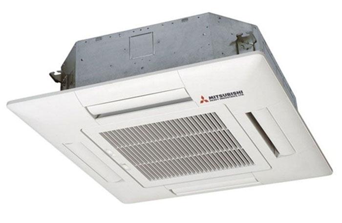 Điều Hòa Âm Trần Cassette Mitsubishi Inverter 2 Chiều 42.000 BTU (FDT125VG/FDC125VN) Điều Khiển Dây (T-PSA-5AW-E/RC-E5)