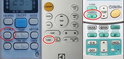 Ý nghĩa các ký hiệu trên remote máy lạnh
