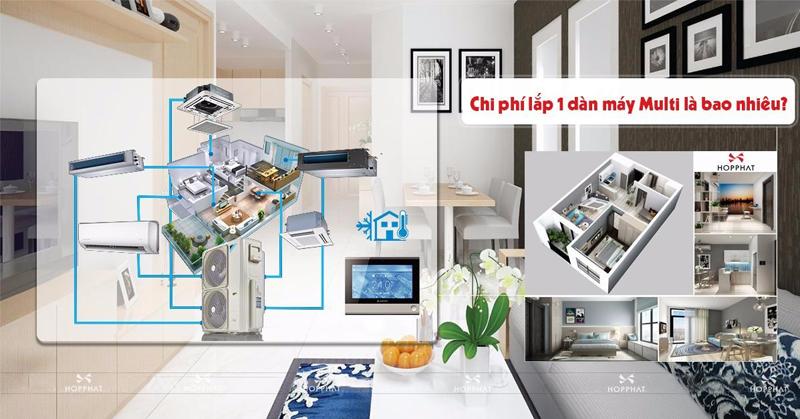máy điều hòa multi dành cho chung cư
